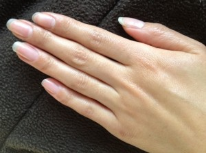 認定講師試験 2013春期 時間や爪の状態も気を付けてもらい