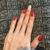 2018春期ネイル2級合格 モデルさんの爪、指が綺麗で合格